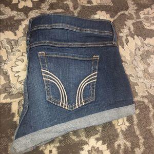 Hollister size 9 high waisted short shorts